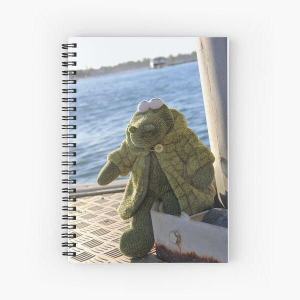Alligator Ahoy Spiral Notebook