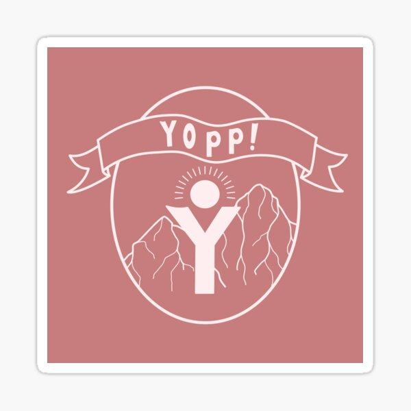 Rose Yopp Logo Sticker
