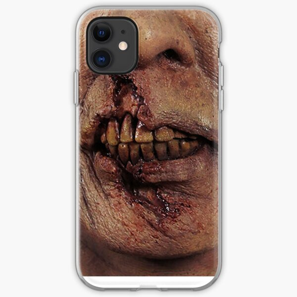 Zombie Face iPhone Soft Case