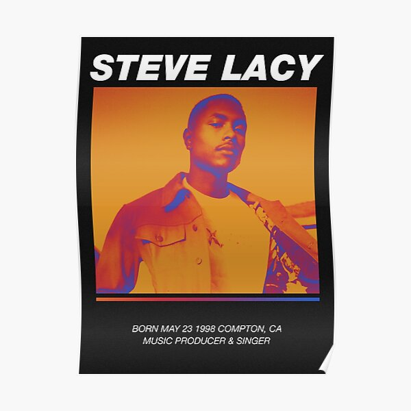 Steve Lacy Poster Poster
