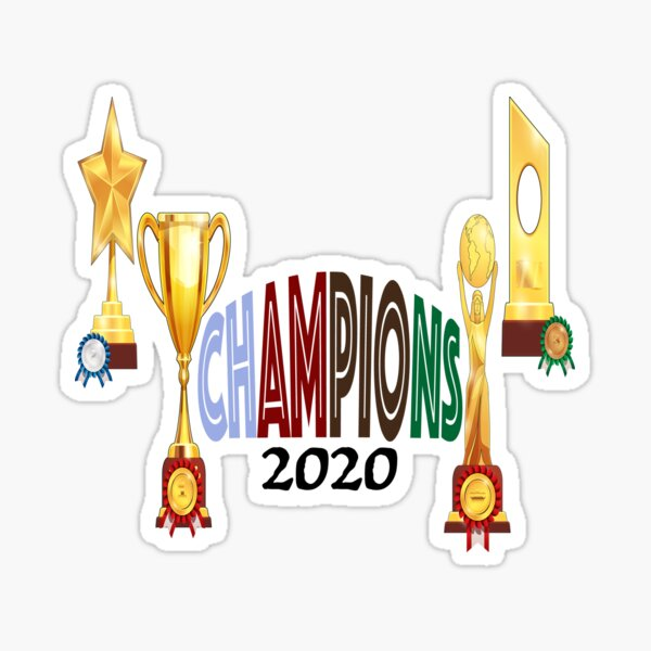 Champions League 2020 Stickers Redbubble