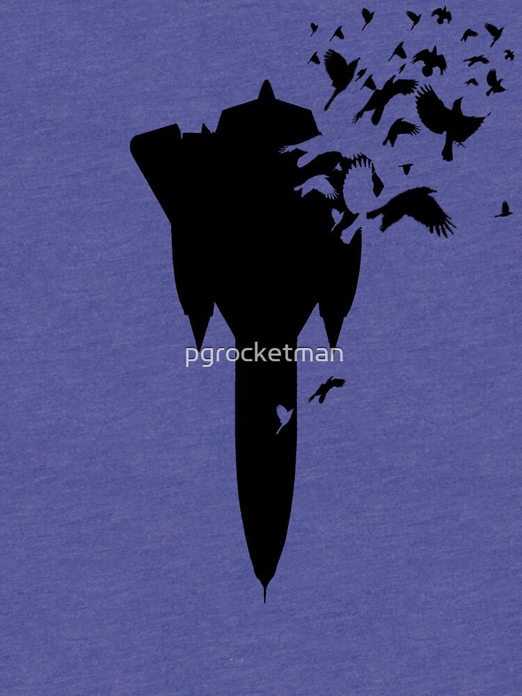 SR-71 Blackbird Escher by pgrocketman