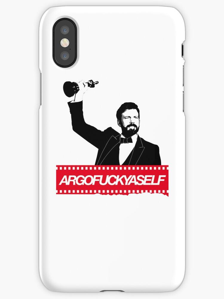 ARGOFUCKYASELF IPHONE CASE by pocus