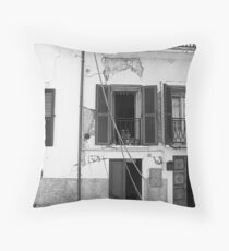 Abruzzo's earthquake Throw Pillow