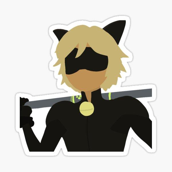 smexy chat noir Sticker