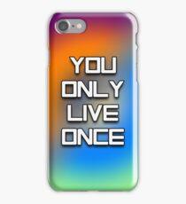YOLO - Tie Dye #2 iPhone Case/Skin