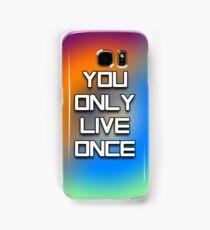 YOLO - Tie Dye #2 Samsung Galaxy Case/Skin