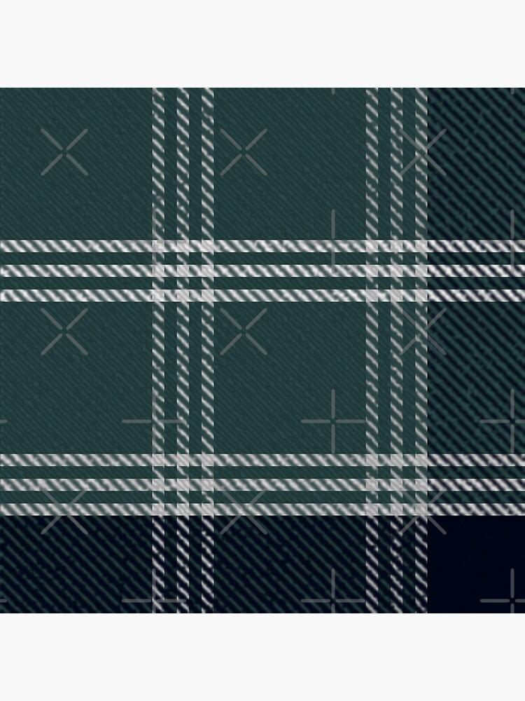 green tartan plaid pattern by Pressia97