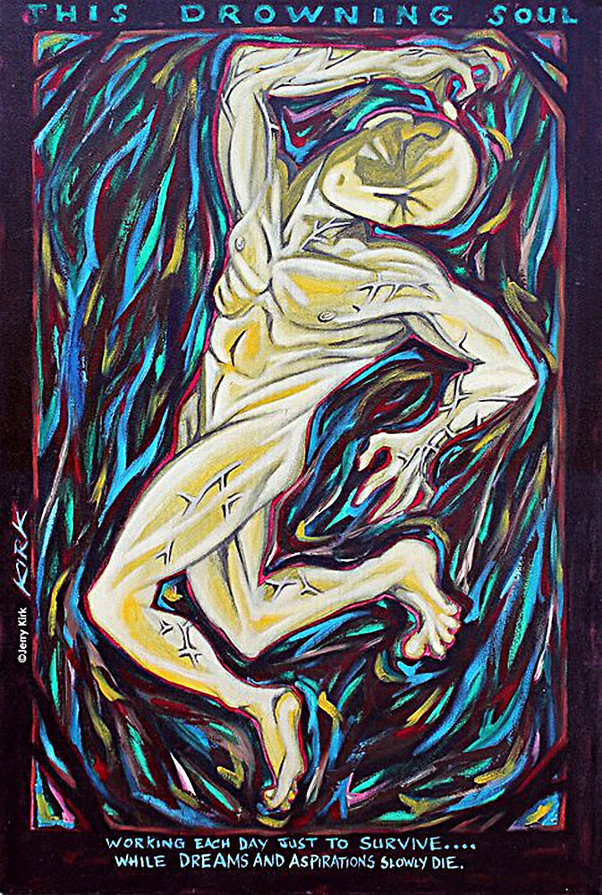 'THIS DROWNING SOUL' by Jerry Kirk