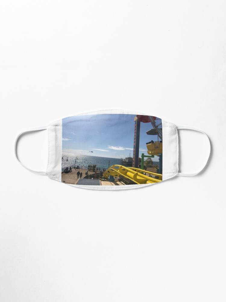 Alternate view of Santa Monica's Pier(Roller coaster) Mask
