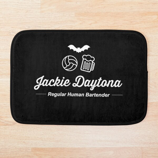 Jackie Daytona | What We Do in The Shadows | v.2 Bath Mat