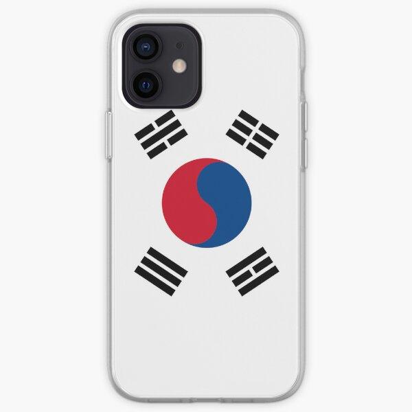 Drapeau de la Corée du Sud Coque souple iPhone