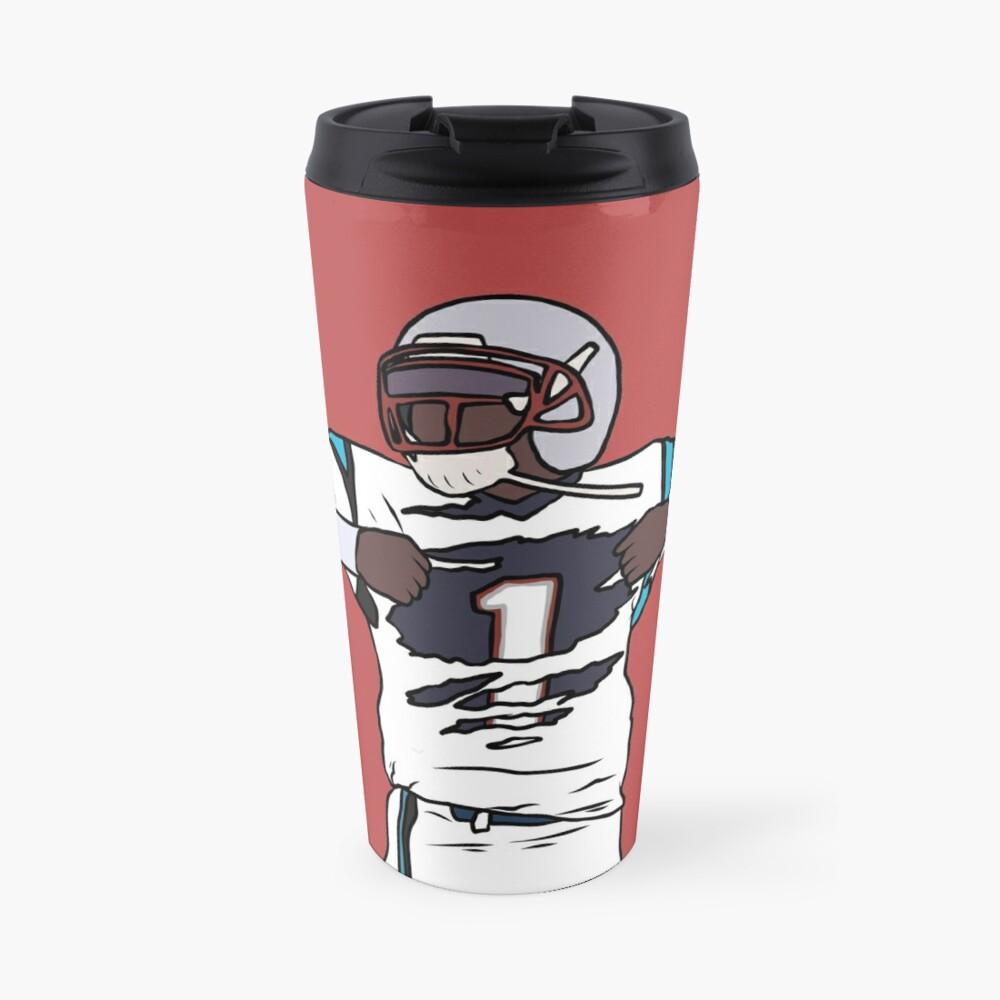 Cam Newton Patriots Travel Mug
