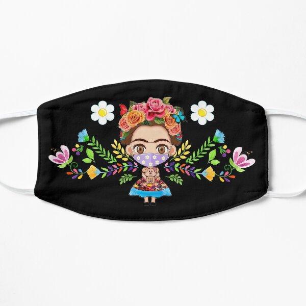 mignon Frida portant un masque facial Masque sans plis