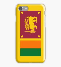 Sri Lanka Flag iPhone Case/Skin