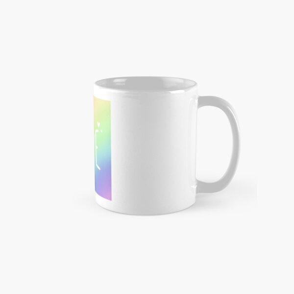 Pastel Rainbow Love Classic Mug
