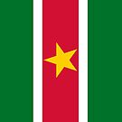 Suriname Flag by pjwuebker