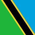 Tanzania Flag by pjwuebker