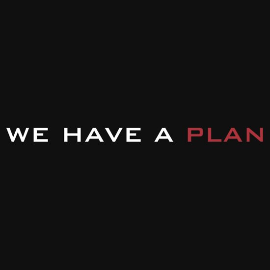 TShirtGifter presents: We have a plan | Unisex T-Shirt