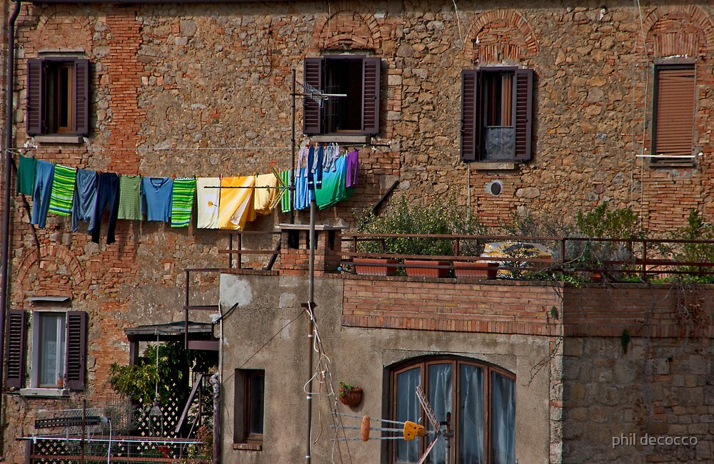 Sunny Day, Volterra by phil decocco