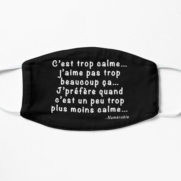 """Citation Numérobis Film Astérix et Obélix: Mission Cléopâtre - """"C'est trop calme..."""" Masque sans plis"""