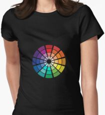 Color Wheel Women's Fitted T-Shirt