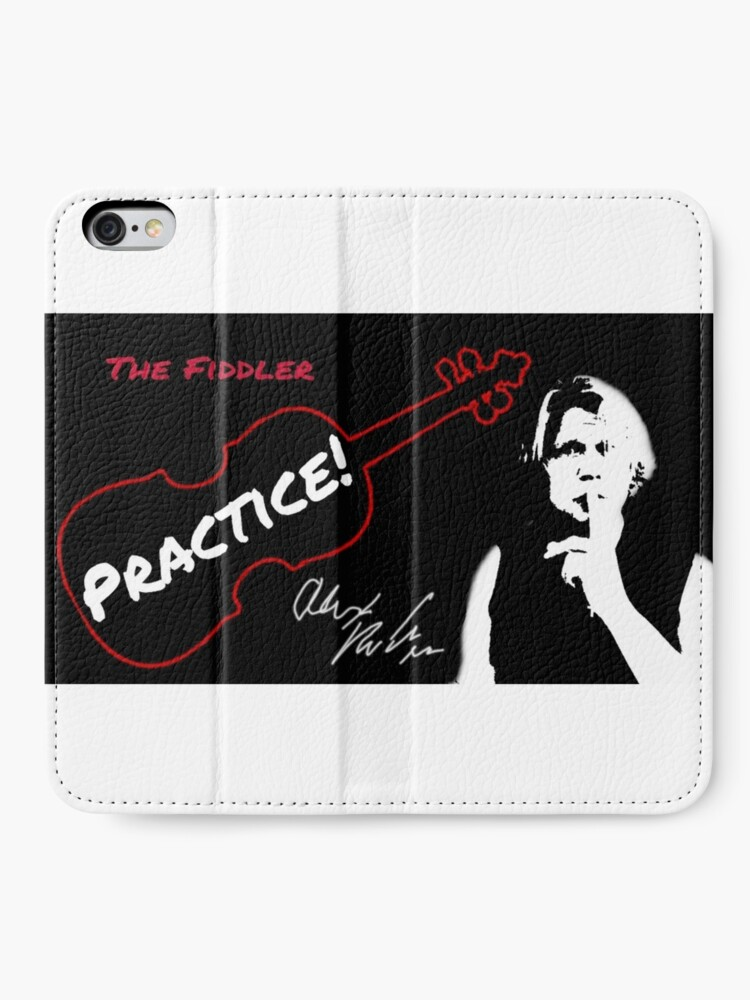 "Alternate view of Alex DePue ""Practice"" w/ signature design, all products! iPhone Wallet"
