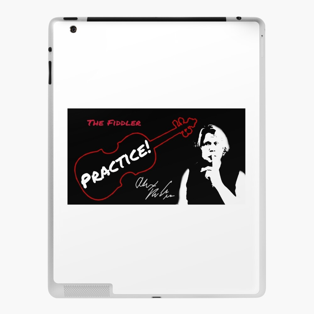 "Alex DePue ""Practice"" w/ signature design, all products! iPad Case & Skin"