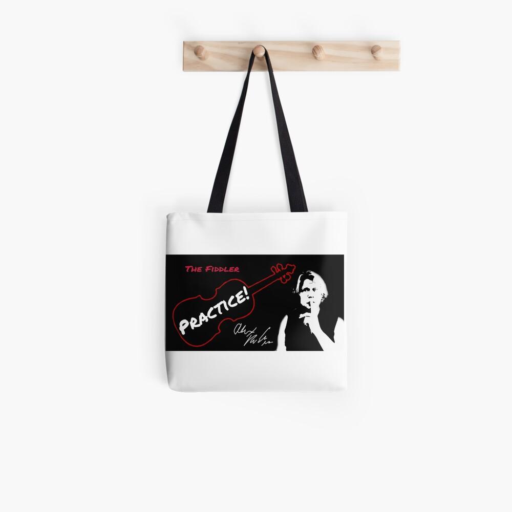 "Alex DePue ""Practice"" w/ signature design, all products! Tote Bag"