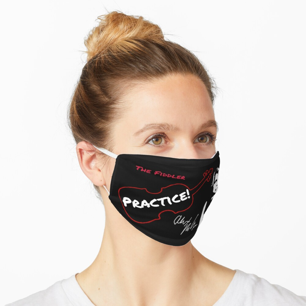 "Alex DePue ""Practice"" w/ signature design, all products! Mask"
