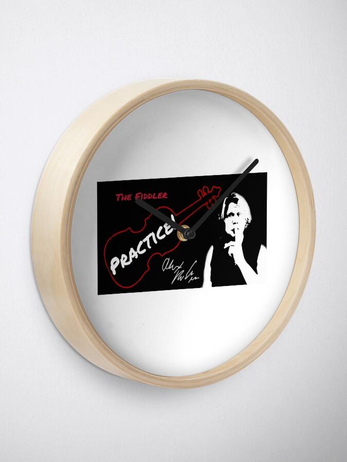 "Alternate view of Alex DePue ""Practice"" w/ signature design, all products! Clock"