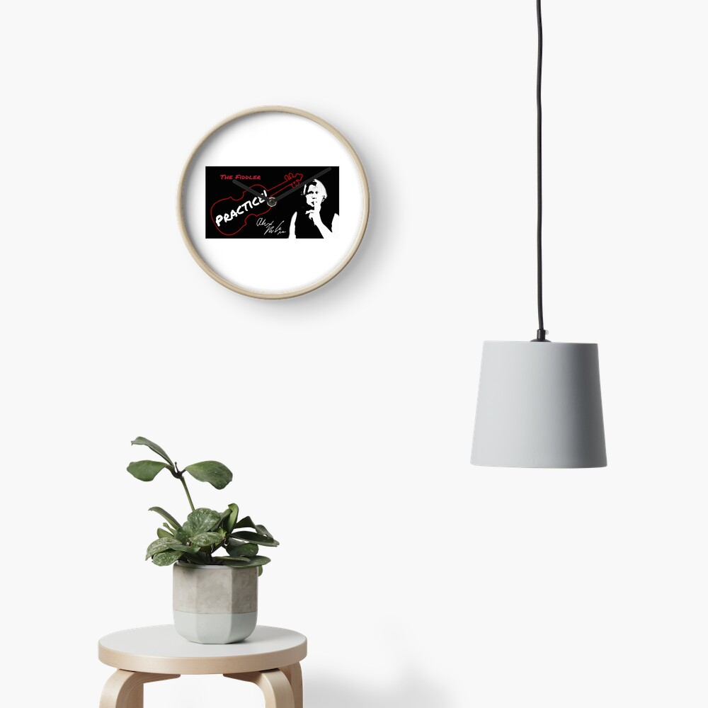 """Alex DePue """"Practice"""" w/ signature design, all products! Clock"""
