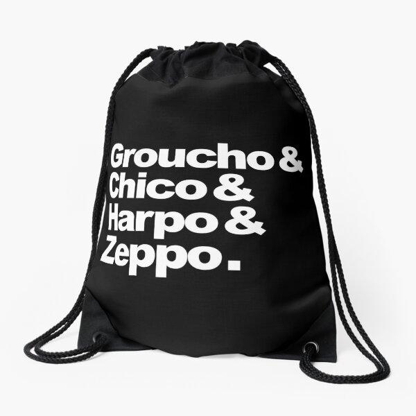 Groucho & Chico & Harpo & Zeppo. Drawstring Bag