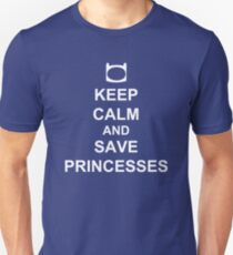 KEEP CALM AND SAVE PRINCESSES FINN T-Shirt