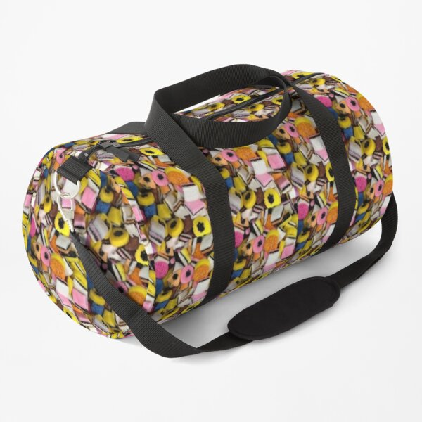 I love Licorice retro halloween licorice candy  Duffle Bag