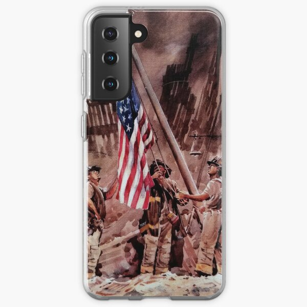 9/11 NYPD and FDNY, Heroes of our Time Samsung Galaxy Soft Case