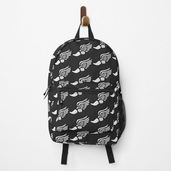 Track Shoe - White Marble Backpack