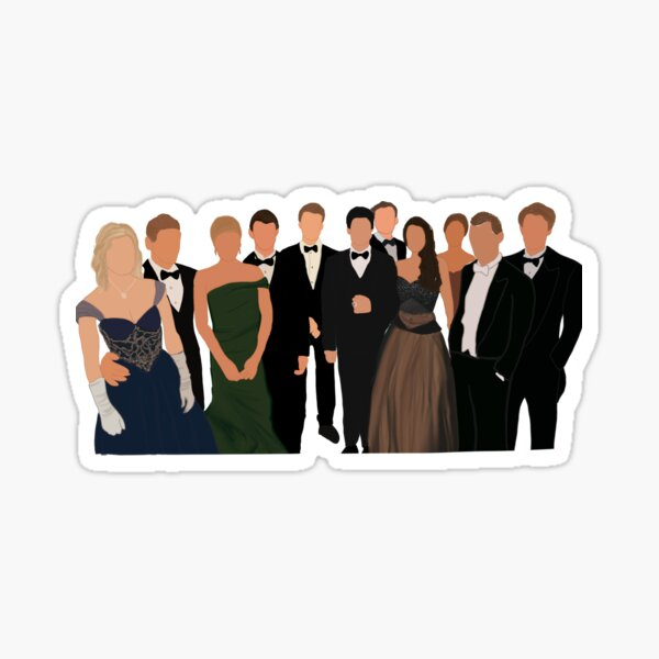 Tvd cast mikaelsons Salvatores Sticker