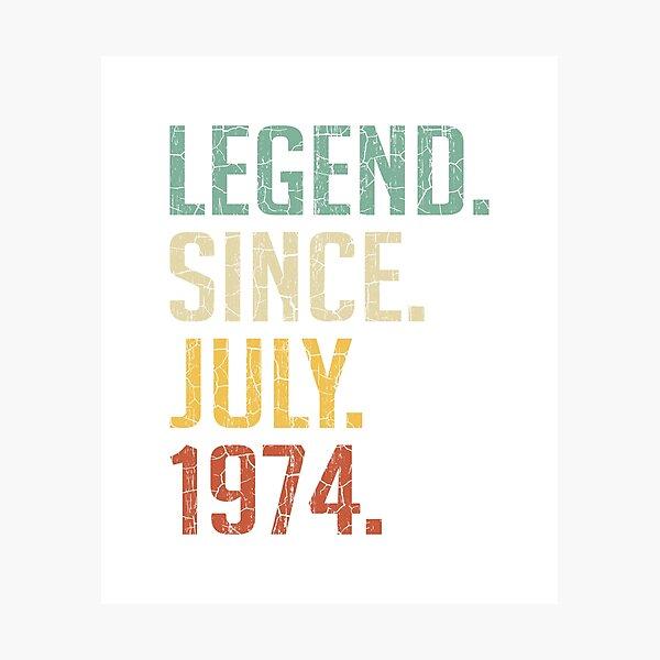 46 ans Cadeau Femmes Hommes 46e Anniversaire Octobre 1974 T-Shirt