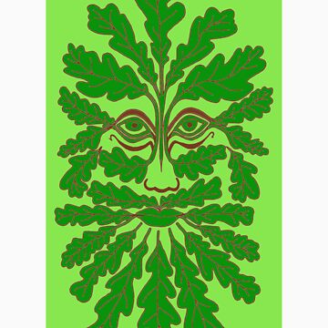The Minimalist Green Man by Eirys