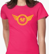 Air Tails Helicopter Tours Womens Fitted T-Shirt