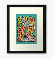Doodleicious Framed Print