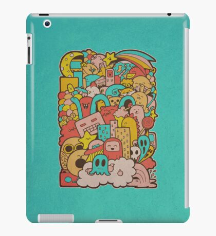 Doodleicious iPad Case/Skin