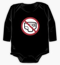 No more diapers! Toilet trainedness One Piece - Long Sleeve