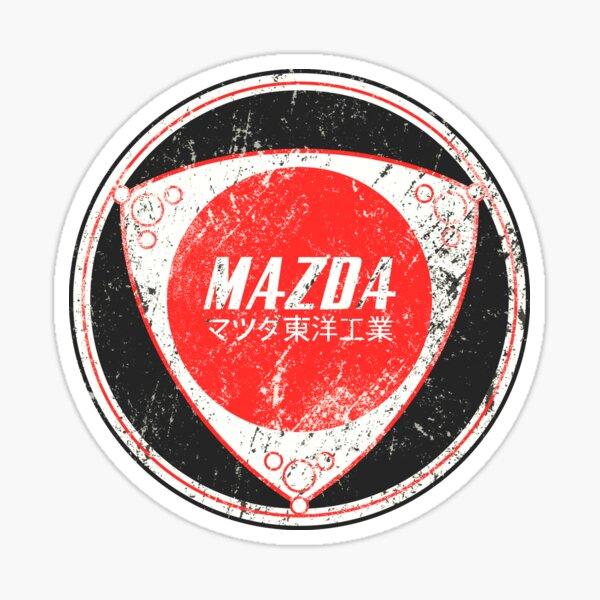 Logotipo de Mazda Rotary Vintage Pegatina