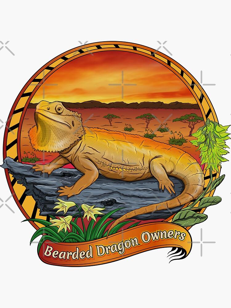 Bearded Dragon Owners Desert Landscape by PogonaVitticeps