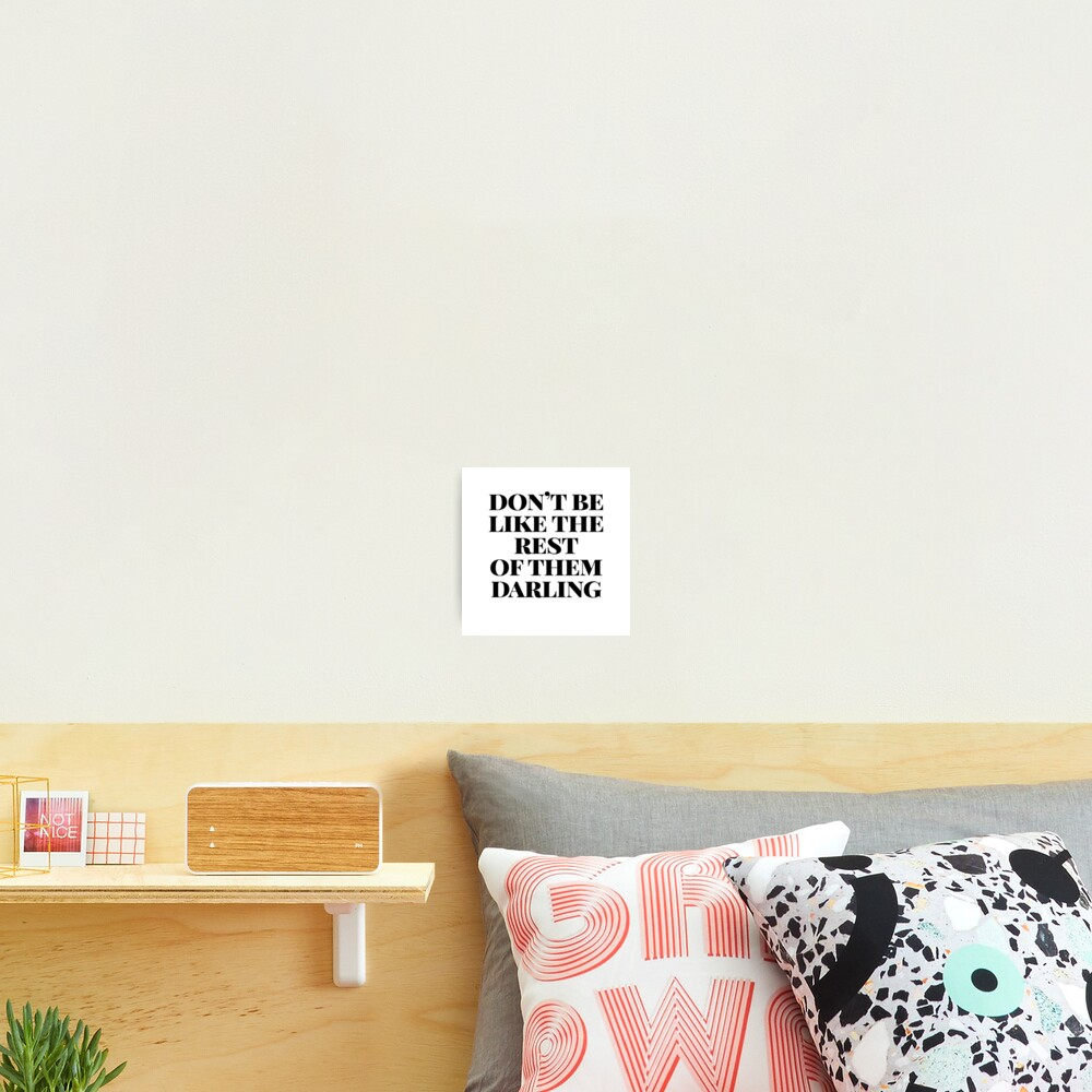 cute darling sticker Photographic Print