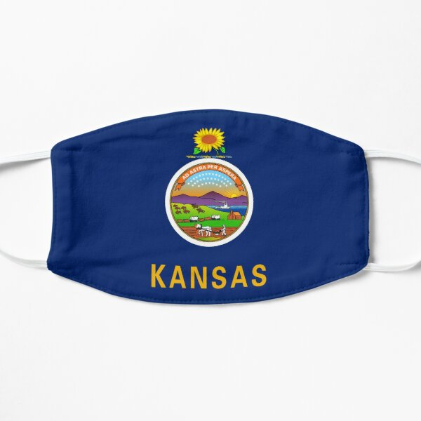 Flag of Kansas Mask
