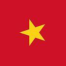 Vietnam Flag by pjwuebker