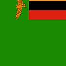 Zambia Flag by pjwuebker
